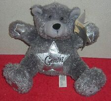"CARLTON CARDS GEMINI ZODIAC HOROSCOPE BEAR 8"" PLUSH BEAN BAG TOY"