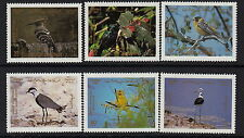 BIRDS :1987 JORDAN Birds set SG1514-19 never-hinged mint