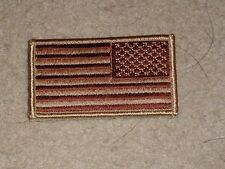 ARMY PATCH,SSI ARMY REVERSE U.S.FLAG, DESERT, DCU,TAN, WITH VELCR