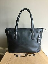 Tumi Sinclair Collection Viera Business Tote 79386 Black Travel Carry On Bag