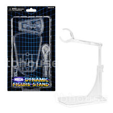 "1 x DYNAMIC FIGURE DISPLAY STAND adjustable FOR 5-10"" ACTION FIGURES clear NECA"