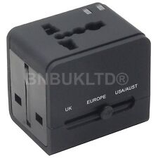 Worldwide AC Plug Multi purpose Travel Dual USB Charger Universal Power Adapter