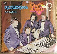"""LOS BABY'S RECUERDOS / ROSARIO MEXICAN 7"""" SINGLE PS GRUPERO / BALADA ROCK 1978"""