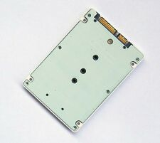 "2.5"" sata to B+M key SATA M.2 NGFF SSD adapter card with 7 mm thickness case"