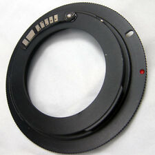 AF Confirm M42 42mm screw Lens to Canon EOS EF mount lens adapter + eos cap