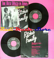 LP 45 7'' RITCHIE FAMILY The best disco in town American generation*no cd mc dvd