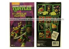 TEENAGE MUTANT NINJA TURTLES 27 Valentines Day LENTICULAR CARDS Pic Changing 4/4