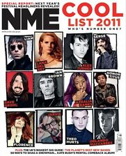 NME,Beady Eye Liam Gallagher,Lana Del Rey,Florence and the Machine,Mick Jones