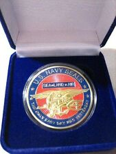US NAVY SEALS Commemorative Challenge Coin w/ Gift Box