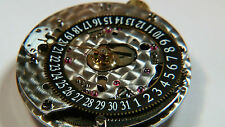ETA 2892 A2 Corum, date at 6 o'clock, Calibre 2047, (BLACK), watch part movement