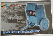 dragon cyber german ammo 12cm mortar carrier 1/6 12'' boxed did hot toy ww11