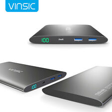 Vinsic 12000mAh Portable Power Bank Pack External Battery Charger for iPhone 6 7