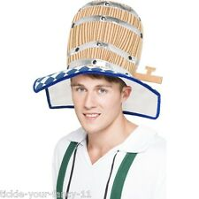 Unisex Men's Women Oktoberfest Beer Barrel Fancy Dress Hat Beer Feastival Fun