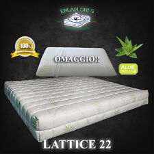 Materasso Lattice SINGOLO 80x190 Aloe Vera + 1 guanciale in lattice OMAGGIO!!!