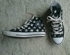 Converse All Star Chuck Taylor High Top Black White Stars Sneakers