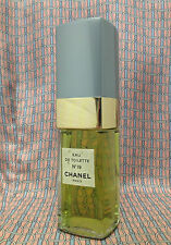 Vintage 1970-80s Chanel No 19 LARGE 3.38 oz 100 ml Eau de Toilette OLD FORMULA