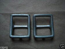 German WWII belt supporting straps Y straps buckles