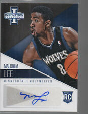 MALCOLM LEE 2012-13 PANINI INNOVATION ROOKIE AUTO CARD #28