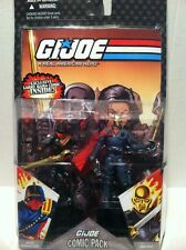 IRON GRENADIER DESTRO COMIC PACK G.I. JOE 25th ANNIVERSARY