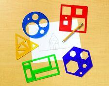 Ressources d'apprentissage formes primaires modèle set mathématiques Montessori eyfs sen