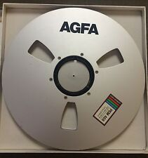"AGFA PEM 468 Take Up Reel For 1/2"" Audio Recording 1/2"" X 12.5"" Precision Reel"
