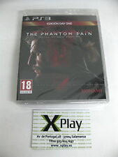 PS3 Metal Gear Solid The Phantom Pain Day One Edition Nuevo Precintado Pal Esp
