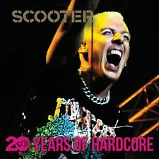 SCOOTER 20 years of Hardcore DOPPIO CD NUOVO OVP