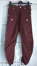 MENS / BOYS ETO RUST CARGO JEANS WITH ELASTIC HEM SIZE 26""