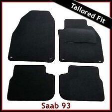 Saab 93 Convertible Tailored Fitted Carpet Car Mats (2003 2004 2005...2010 2011)