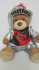 Build A Bear Work Shop Knight In Shining Armor Plush Dressed With Accessories