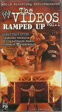 WWE Ramped Up - The Videos Vol. 1 (VHS, 2002) Kurt Angle, Undertaker, Kane - NEW