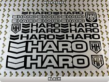 HARO Stickers Decals Bicycles Bikes Cycles Frames Forks Mountain MTB BMX 58I