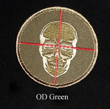 Morale Patch - One Shot One Kill Sniper - OD GREEN - Hook & Loop