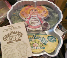 vintage Wilton Cabbage Patch Doll Cake pan with instructions & liner