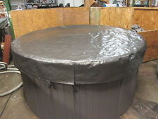 Spa Hot Tub Cover Cap SunShield® 72 Round Viking Image Icon Garden Leisure Video