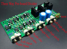 Linkwitz-Riley Crossover 3-Way Electronic Frequency Divider 310HZ/3.1KHZ 1PCS
