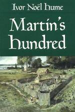 Martin's Hundred Noël Hume, Ivor Paperback