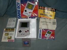 Nintendo Gameboy Original Complete In Box And Tetris 1992