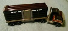 VINTAGE TONKA SEMI TRUCK WITH CATTLE TRAILER