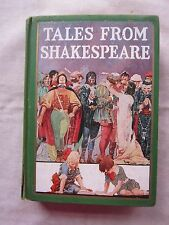 Old Book Tales From Shakespeare Charles & Mary Lamb 1925 GC