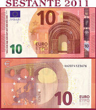 "(com) EUROPEAN UNION  ITALY 10 EURO 2014 Sign DRAGHI  ""SD""  S003B3 - P 21s - UNC"