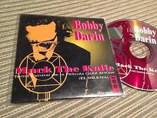OST QUIZ SHOW SPANISH CD SINGLE SPAIN BOBBY DARIN MACK THE KNIFE CARD SLV RADIO