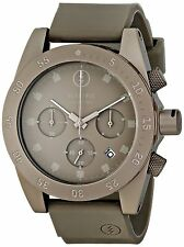Electric Men's DW01 Gun Metal Chronograph Sport Watch Rubber Strap Date Gunmetal