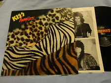 KISS / ANIMALIZE 1984 Mercury vinyl NM