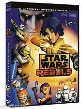 LEGO STAR WARS REBELS LA PRIMERA TEMPORADA COMPLETA 1ª DVD NUEVO ( SIN ABRIR )