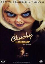 CHUCKY UND &  SEINE BRAUT Die Mörderpuppe Teil 2 CHUCKYs BRAUT Uncut DVD Neu