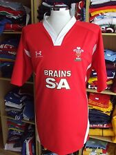 MINT Rugby Shirt Wales (3XL) Home Under Armour Maglia Jersey Trikot Maillot