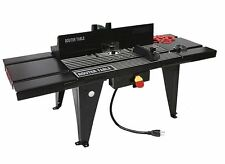 "ALUMINUM WORK BENCH TOP DELUXE ROUTER TABLE STATIONARY POWER 34"" x 13"" TABLES"