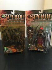 Spawn Dark Ages 2 Lot 1999 Series 14 Red Mandarin & Viper King