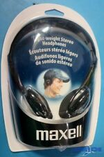 MAXELL 190319 HP-100 LIGHT WEIGHT STEREO HEADPHONES (BOX OF 6)